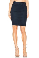 James Jeans Pull On Pencil Skirt Blue Moon
