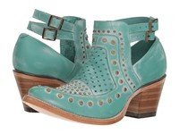 Corral Boots E1403 Turquoise Blue
