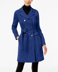 Inc International Concepts Double Breasted Car Coat Only At Macy's Goddess Blue