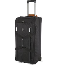 Victorinox Werks Traveller 5.0 Two Wheeled Duffel Case Black