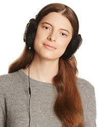 Ugg Croft Wired Headphone Quilted Shearling Earmuffs Black