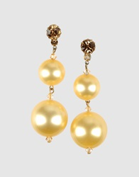 Tarina Tarantino Earrings Light Yellow