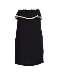 Jucca Short Dresses Black