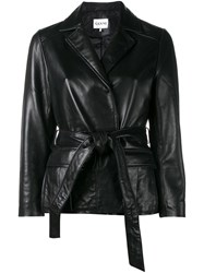 Ganni Passion Wrap Jacket Black