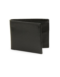 John Varvatos U.S.A. Leather Billfold Wallet Black