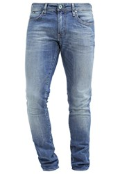 Gas Jeans Gas Sax Slim Fit Jeans Bluegreen Stone Blue