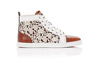 Christian Louboutin Women's Bip Bip Leather And Suede Sneakers No Color