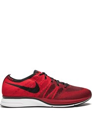 Nike Flyknit Trainer Sneakers Red