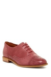 Enzo Angiolini Cristin Cap Toe Oxford Red