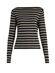 Max Mara Savina Sweater Black Grey