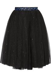 Ryan Lo Glitter Finished Tulle Skirt
