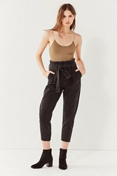 Bdg High Rise Carrot Jean A Belted Washed Black