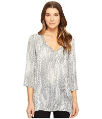Tart Emilia Tunic Polarized Python Women's Clothing Silver