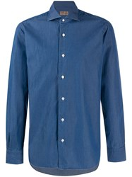 Barba Long Sleeved Buttoned Shirt 60