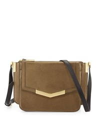 Time's Arrow Modena Mini Trilogy Crossbody Bag Bronze