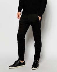 Antony Morato Sweatpants With Button Cuff Ankle Black