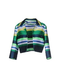 P.A.R.O.S.H. Suits And Jackets Blazers Women Green