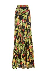 Isolda Alicia High Waist Maxi Skirt Print