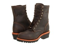 Chippewa Apache Steel Toe Logger Chocolate Men's Boots Brown