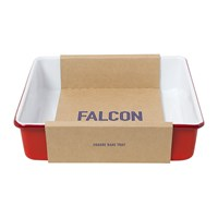 Falcon Square Bake Tray Pillarbox Red
