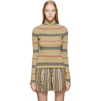 Burberry Beige Waita Turtleneck