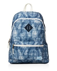 Toms Tie Dye Local Backpack Blue Tie Dye