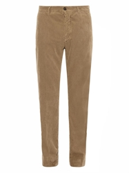 Massimo Alba Winch Washed Micro Corduroy Trousers
