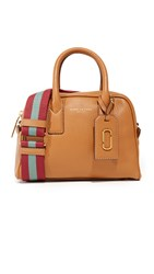 Marc Jacobs Gotham Small Bauletto Satchel Maple Tan