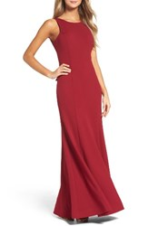 Sequin Hearts Women's Jersey Gown