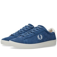 Fred Perry Spencer Suede Bluebird And Porcelain