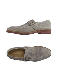 Mr. Wolf Footwear Moccasins Men Light Grey