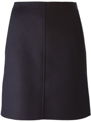 Tomas Maier A Line Short Skirt Blue