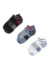Asics Quick Lyte Single Tab Socks Pack Of 3 Red