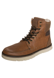 Your Turn Boots Natural Brown Dark Brown Cognac