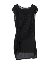 Poeme Bohemien Short Dresses Black