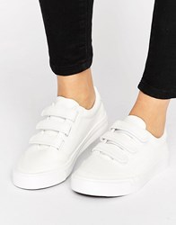 New Look Triple Strap Trainer White