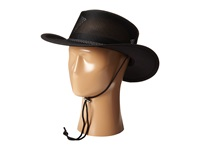 Stetson Mesh Covered Safari With Chin Cord Black Safari Hats