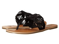 Billabong Setting Free Sandal Off Black Women's Toe Open Shoes