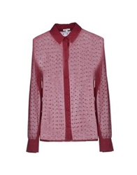 Manoush Shirts Garnet