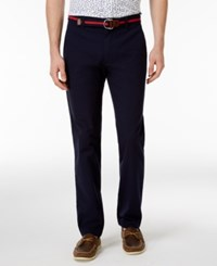 Brooks Brothers Red Fleece Men's Seersucker Cotton Chinos Navy