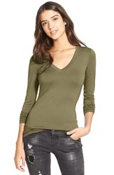 Junior Women's Soprano Long Sleeve V Neck Tee 2 For 38