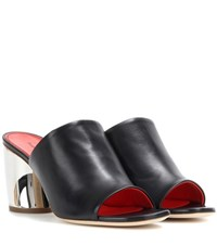 Proenza Schouler Leather Sandals Black