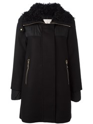 Moncler 'Calipso' Short Coat Black
