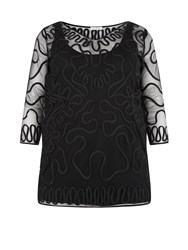 Windsmoor Black Cornelli Tunic