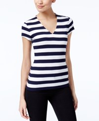 Inc International Concepts Striped T Shirt Only At Macy's Even Stripe