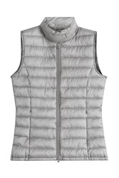 Closed Down Vest Grey