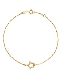 Moon And Meadow 14K Yellow Gold Beaded Star Bracelet 100 Exclusive