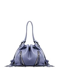 Linea Pelle Ryan Leather Bucket Bag Slate