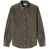 Barbour Cord Shirt Green