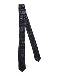 Frankie Morello Accessories Ties Men Black